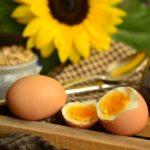 Разгрузка на яйцах