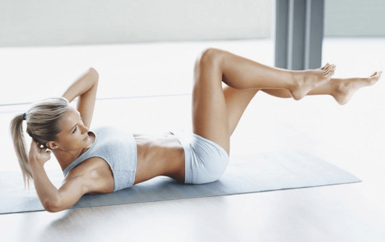 Тренировки для плоского живота и упругих ягодиц