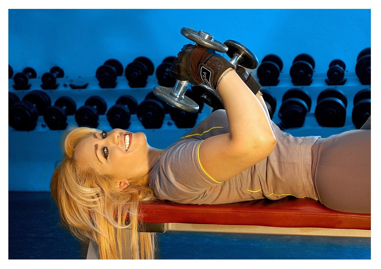 Программа тренировки в тренажерном зале для девушек