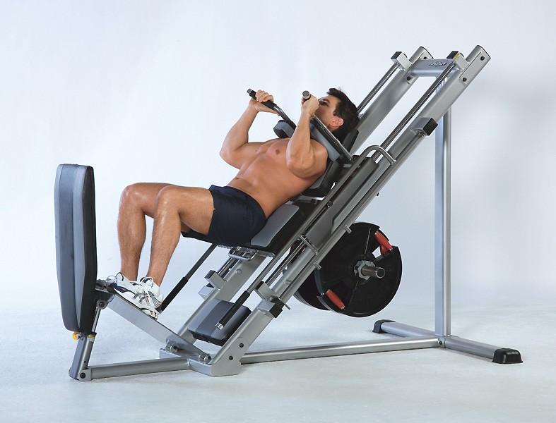 Упражнения на ноги в тренажерном зале — как правильно качать бедра и икры