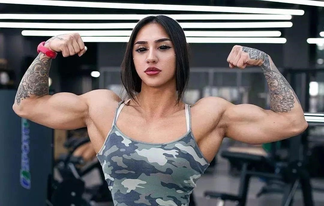 Девушки и масса. Комплекс тренировок для набора мышечной массы