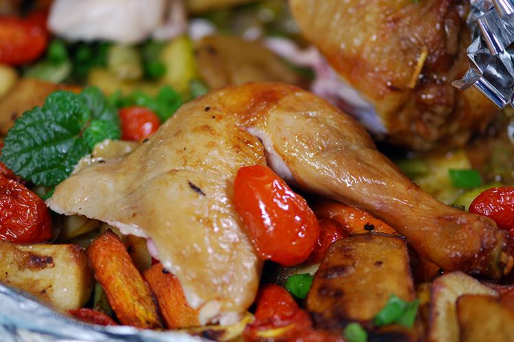 Нежирные блюда в духовке