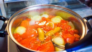 Овощное рагу: низкокалорийные рецепты