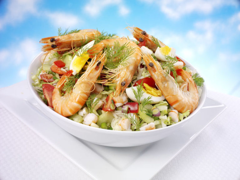 Список морепродуктов для похудения